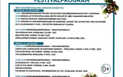 Filmfestival – Northern character: Green screen 23.-25. september